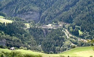 Solis Viaduct - Image: Schinschlucht 2