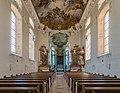 Schlosskirche, Bad Mergentheim, Nave 20150726 1.jpg