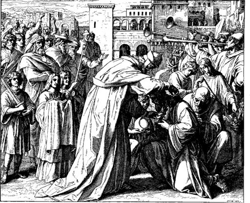 Schnorr von Carolsfeld Bibel in Bildern 1860 153