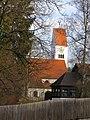 Schongau - Münztor - Dreifaltigkeitskirche v S.JPG