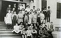 School children in front of Beaverton School (Beaverton, Oregon Historical Photo Gallery) (12).jpg