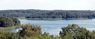 Lake Schwerin - Image: Schweriner See SO