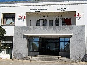 Mohammed V University at Agdal - Scientific Institute of Mohammed V University at Agdal