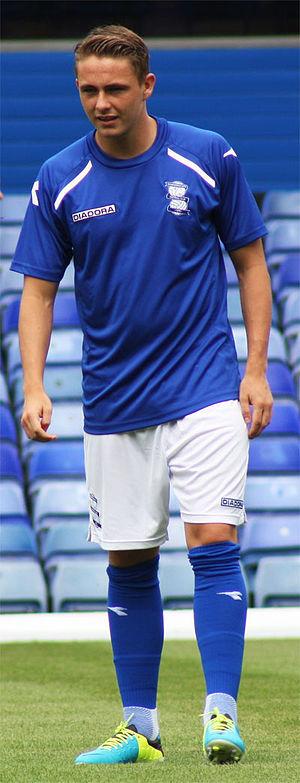 Scott Allan - With Birmingham City in 2013 pre-season