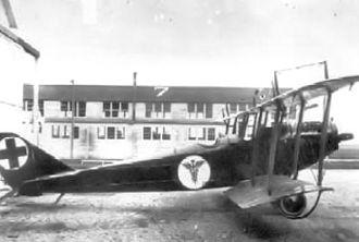 Scott Air Force Base - Scott Field Curtiss JN-4D configured as an air ambulance.