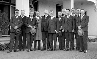 James Scullin - The Scullin Government sworn in, October 1929