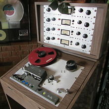 A Scully Four Track 280 Tape Deck Similar To The 288 Used For Pet Sounds