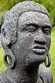 Sculpture - maloya - joueuse de pikèr.jpg