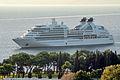 Seabourn Odyssey (ship, 2009) IMO 9417086; in Split, 2011-11-16.jpg
