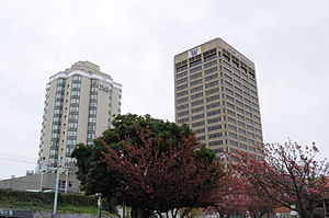 UW Tower - Image: Seattle Hotel Deca & UW Tower