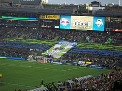 Supporters des Seattle Sounders
