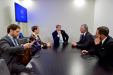 Secretary Kerry and Ambassador LeVine Meet With Swiss Foreign Minister Burkhalter in Davos (24495312386).jpg