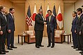 Secretary Pompeo Meets with Prime Minister Shinzo Abe in Tokyo, Japan on October 6, 2018 (43317586730).jpg