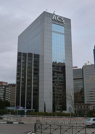 ACS Group - ACS headquarters in Madrid (Spain).