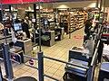Self-service checkout at supermarket in Bergen, Norway (selvbetjente kasser, selvskanning i Meny i Bergen Storsenter) 2017-10-23 a.jpg