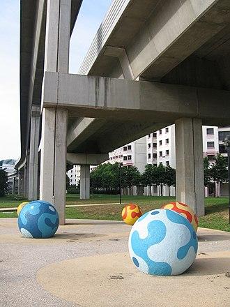 Sengkang Sculpture Park - Bubbles