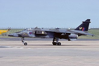Structure of the Royal Air Force in 1989 - A Jaguar GR.1A of No. 226 Operational Conversion Unit RAF.
