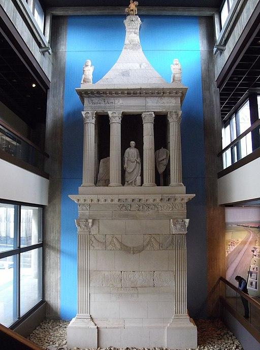 Grabmal des Poblicius (Römisch-Germaisches Museum Köln). Sepulcher of Poblicius Römisch-Germanisches Museum Cologne 4