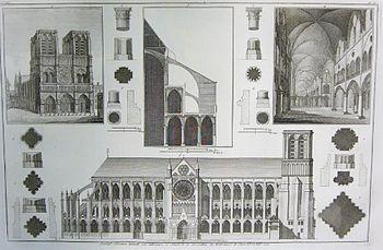 Notre-Dame de Paris in Seroux d'Agincourt, Histoire de l'art
