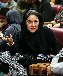 Setareh Eskandari Iranian stage, movie, and TV actress