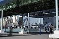 Sevilla Expo 92-Plaza del pabellón de Francia-1992 05 05.jpg