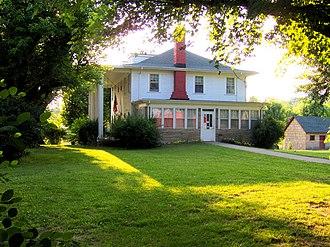Sgt. Alvin C. York State Historic Park - Sgt. York house