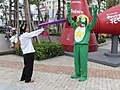 Sgt. Frog cosplayers at Kaohsiung Comic and Animation Exhibition 20090830.jpg