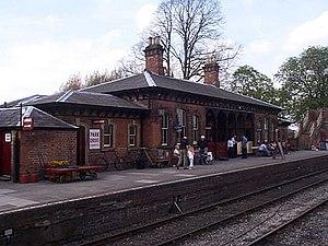 Battlefield Line Railway - Shackerstone Station