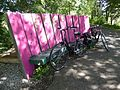 Shady Pink Seat, Bristol to Bath Cycle track. - panoramio.jpg