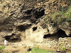 Shah Allah Ditta's Sadhu da Bagh caves are an ancient Buddhist monastic site
