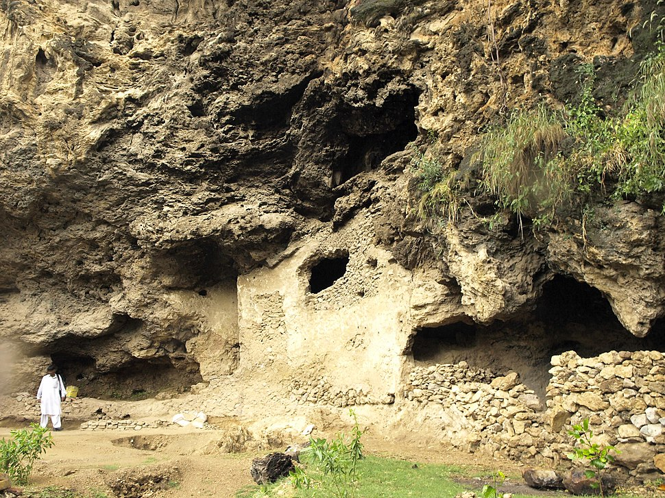 Shah Allah Ditta's Sadhu da Bagh caves are an ancient Buddhist monastic site
