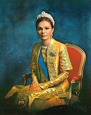 Farah, Reina consorte de Mohammed Reza Pahlavi, Sha de Irán ((1938-))