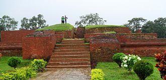 Shalban Vihara - Ruins of Shalban vihara, Comilla, Bangladesh