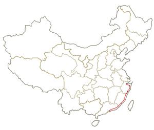 Hangzhou–Fuzhou–Shenzhen high-speed railway - The Hangzhou–Fuzhou–Shenzen high-speed railway