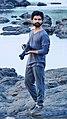 Shantanu Kuveskar while exploring around the kaal river in Mangaon.jpg