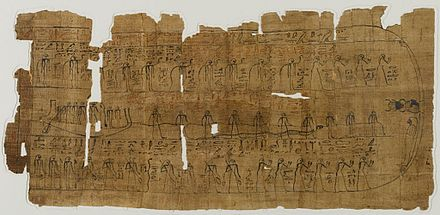 Sheet From A Book Of The Dead C 1075 945 BCE 371699