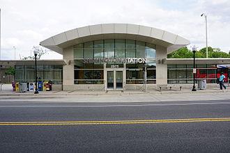 Shirlington, Arlington, Virginia - Shirlington Bus Station