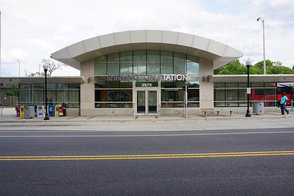 Shirlington Bus Station; Shirlington, Arlington, VA; 2014-05-17