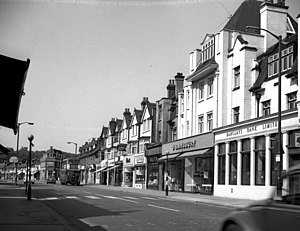 Mac Fisheries - Shops in Brighton Road, Coulsdon, Surrey, 1968; some of the shops here in 1968 have vanished not just locally but nationally - including Mac Fisheries.