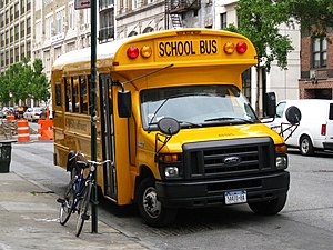 English: Type A school bus (Trans Tech Model D...
