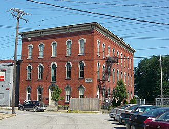 North East, Pennsylvania - Short's Hotel (1899) National Register of Historic Places