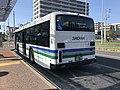 Showa Bus in front of Kyudai-Gakkentoshi Station.jpg