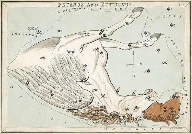 File:Sidney Hall - Urania's Mirror - Pegasus and Equuleus (best