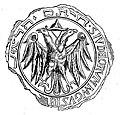Siegel der jüdischen Gemeinde Augsburg 1298.jpg