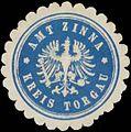 Siegelmarke Amt Zinna Kreis Torgau W0352356.jpg
