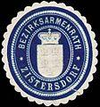 Siegelmarke Bezirksarmenrath Zistersdorf W0320936.jpg