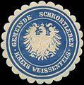 Siegelmarke Gemeinde Schkortleben Kreis Weissenfels W0382868.jpg