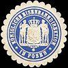 Siegelmarke Königliche Eisenbahndirektion in Posen W0221136.jpg