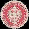 Siegelmarke K. Marine Kommando der I. Halbflottille W0357583.jpg