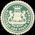 Siegelmarke Magistrat der Stadt Dülmen W0311147.jpg